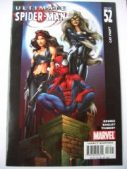 Ultimate Spider-man #52 Black Cat Elektra